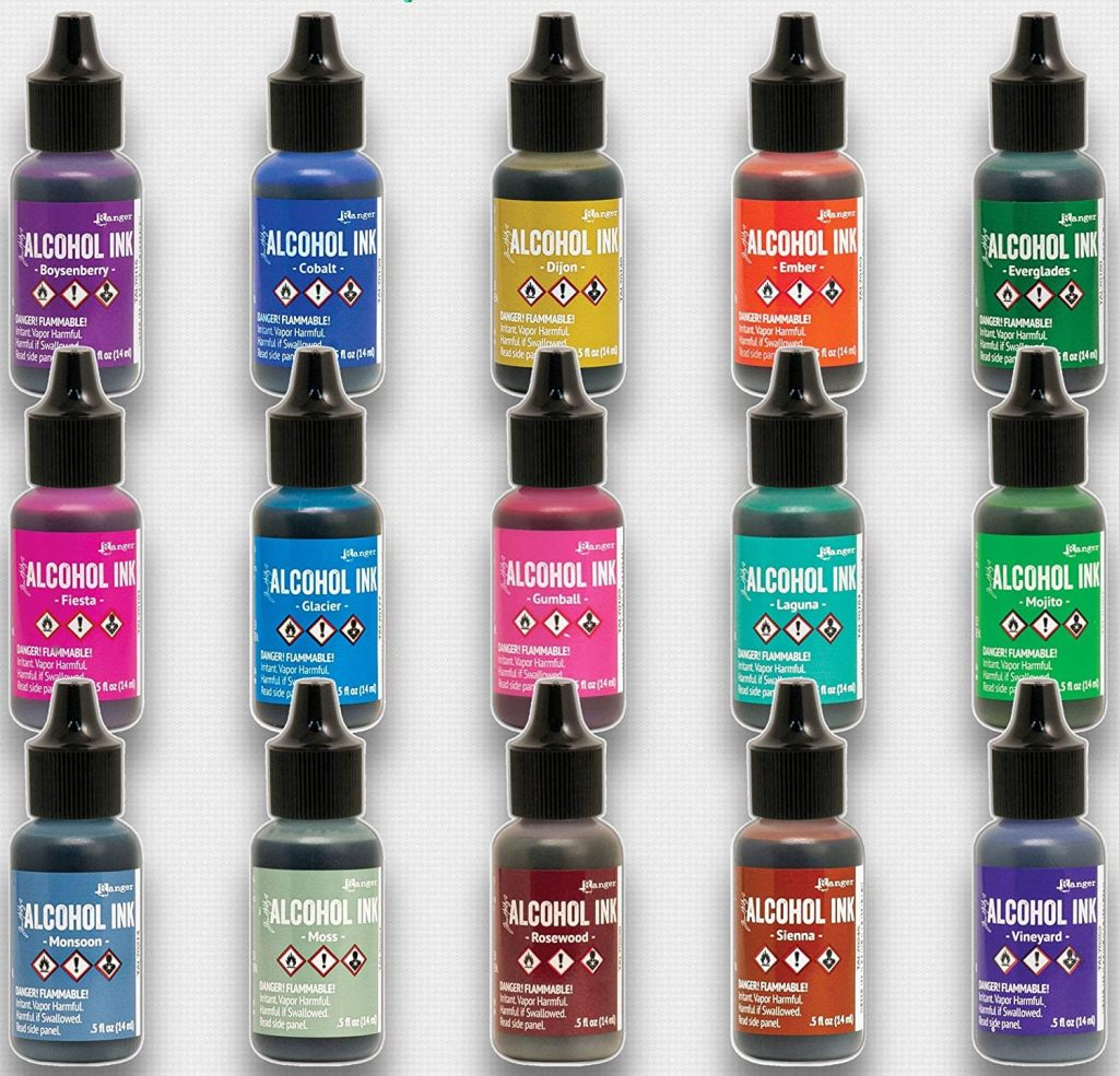 Ranger Alcohol Inks Collection
